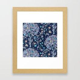 "William Morris ""Kelmscott Tree"" 2. Framed Art Print"