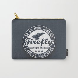Misbehave Badge V1 Carry-All Pouch