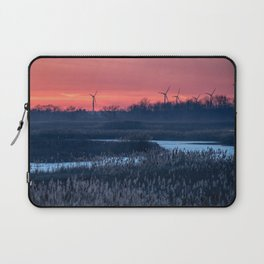 Long Point Sunsets Laptop Sleeve