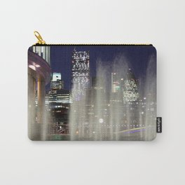 London Skyline through the fountains Carry-All Pouch