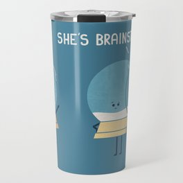 Brainstorming (Alt Version) Travel Mug