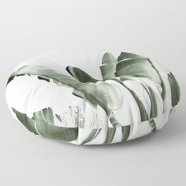 Traveler palm Floor Pillow