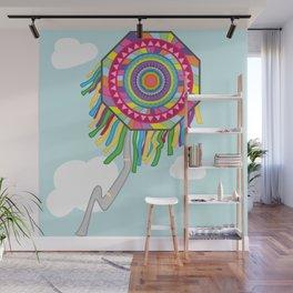 Kite my colors Wall Mural