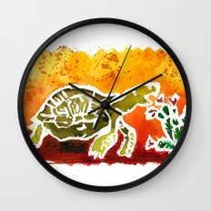 Tortoise Love Wall Clock
