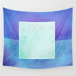 Square Composition XI Wall Tapestry