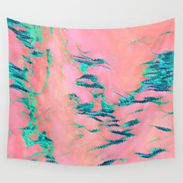 I See Beauty - Malachite Marble Wall Tapestry