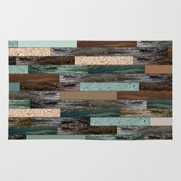 Wood in the Wall Rug