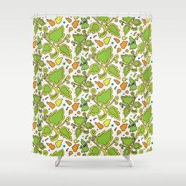 Fresh Leaves Shower Curtain