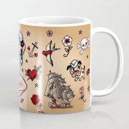 Suzy Sailor Pinup Coffee Mug