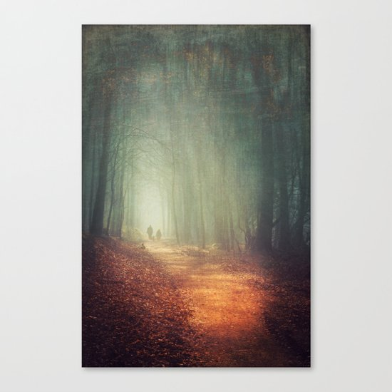 back to light Canvas Print