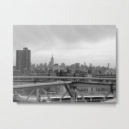 Urban Jungle - NYC Skyline Metal Print