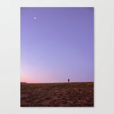 On Top of our World Canvas Print