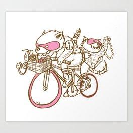 Banditos ©Josh Quick Art Print