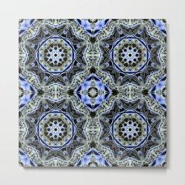 Turkish Floor Tile #2 Metal Print