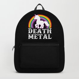 Death Metal Unicorn Backpack