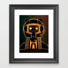 Flux catcher Framed Art Print