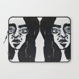 Staring into the void Laptop Sleeve