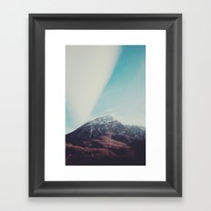 Mountains in the background XIII Framed Art Print