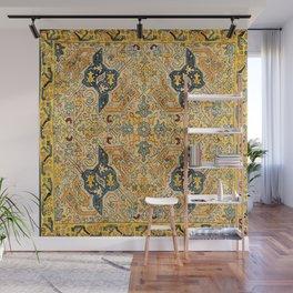 Azerbaijani Southeast Caucasus 18th Century Silk Embroidery Print Wall Mural