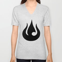 Fire Nation Royal Banner Unisex V-Neck