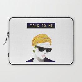 Bergman - Talk to Me Laptop Sleeve