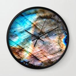 Labradorite Wall Clock