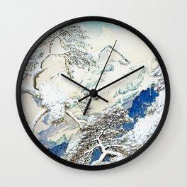 The Snows at Kenn Wall Clock
