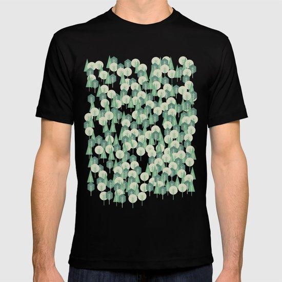 Geometric Woods T-shirt