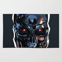 Terminator Head 2 Rug