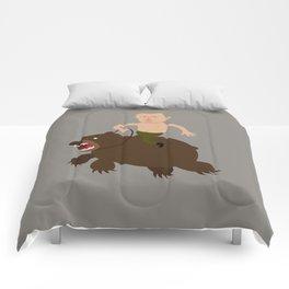 Putin Rider Comforters