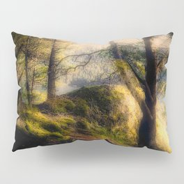 Misty Solitude, The Way Through The Woods Pillow Sham
