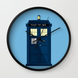 The TARDIS Wall Clock