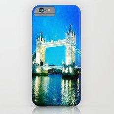 I love Tower Bridge iPhone 6s Slim Case
