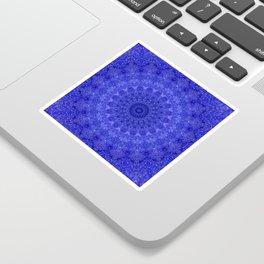 Cosmos Mandala II Cobalt Blue Sticker