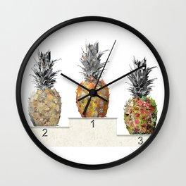 Top Pineapple 02 Wall Clock