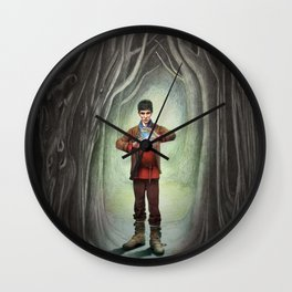 Sorcerer Wall Clock