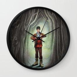 Sorcerer Wall Clock