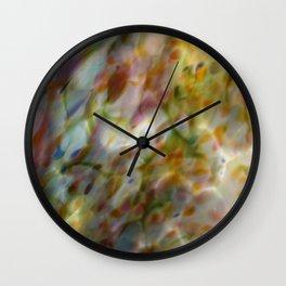 Abstract Dots Wall Clock
