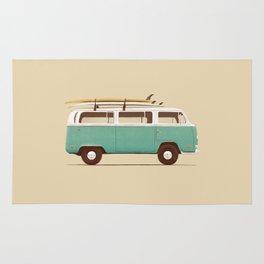Van - Blue Rug