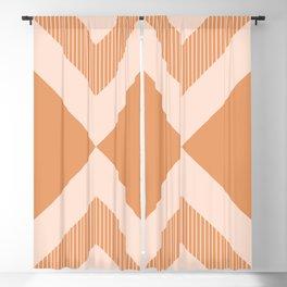X Honey & Blush Blackout Curtain