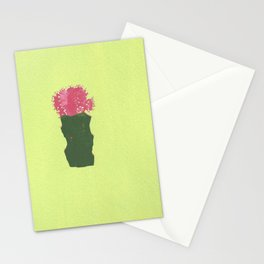 Lil' Cactus Flower Stationery Cards