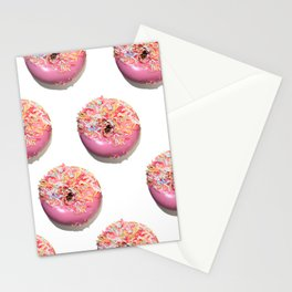 Craving Krispy Cremes Pink Stationery Cards