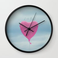let it go Wall Clocks featuring Let Go! by RDelean