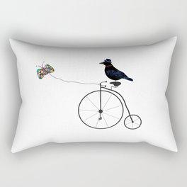 Lazy Raven Rectangular Pillow