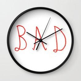 bad Wall Clock
