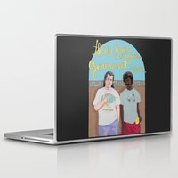 pulp Laptop & iPad Skins featuring Pulp Fiction by Vannia Palacio