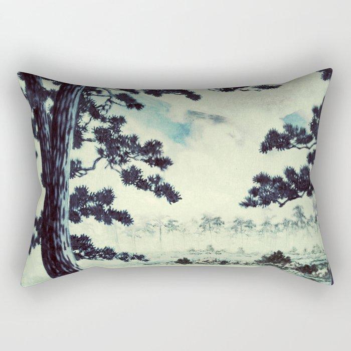 A Long Trip to Kana Rectangular Pillow