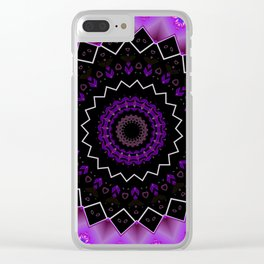 The Sax Note* - Flower Clear iPhone Case