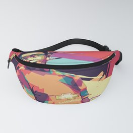 Diallo on WPAP Fanny Pack