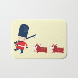 Her Majesty's guards Bath Mat
